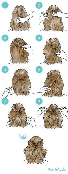 Super Hair Updos Short Shoulder Length Half Up Ideas Super Easy Hairstyles, Trendy Hairstyles, Braided Hairstyles, Everyday Hairstyles, Easy Hairstyles Straight Hair, Drawn Hairstyles, Medium Length Wedding Hairstyles, Easy Wedding Hairstyles, Straight Haircuts