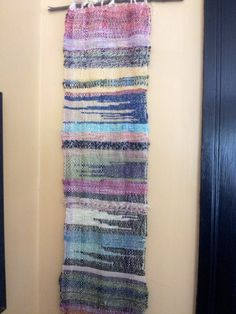 Northern Lights Saori Wall Hanging. $75.00, via Etsy.