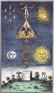 Alchemy:  Alchemical Emblems, Occult Diagrams, and Memory Arts: Alchemy of the Sun. An #Alchemy artwork.