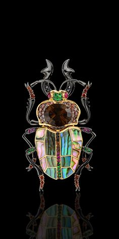Beetle brooch from Master Exclusive Jewellery