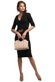 C'iel Henkeltasche 'Joel' in beige Natural Leather, Shoulder Strap, Feminine, Dresses For Work, Beige, Outfits, Material, Inspire, Leather