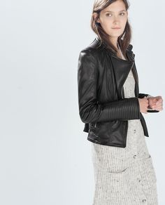 BIKER JACKET-Collection-TRF-COLLECTION SS15 | ZARA United States