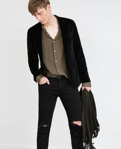 VELVET BLAZER-MUST HAVES-MAN | ZARA United States