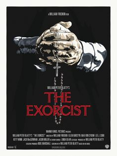 THE EXORCIST Movie Poster by N.E. (New Flesh Prints)