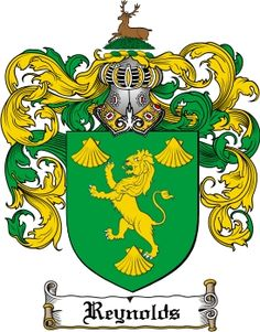 Reynolds Family Crest / Reynolds Coat of Arms