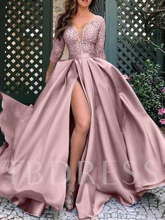 Sexy Long Dress, Sexy Dresses, Fashion Dresses, Prom Dresses, Formal Dresses, Women's Fashion, Bridesmaid Dress, Maxi Dress With Sleeves, Dress Skirt