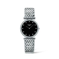Longines Les Grandes Classiques Diamond Set Ladies Watch  image-a