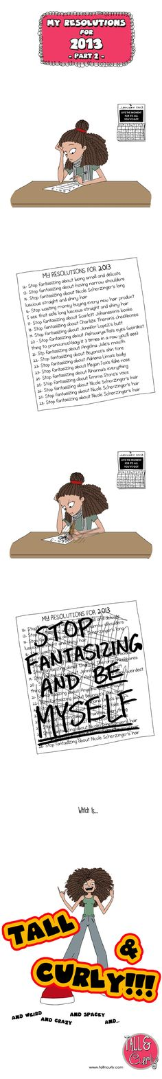 My resolutions for 2013 - Part 2...I Love her comics