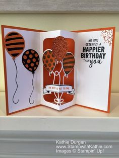 Stampin' Up! Balloon Adventures