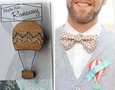 Head Over Heels For: Hot Air Balloon Wedding Ideas