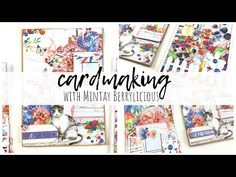 Homemade Cards, Cardmaking, Albums, Card Ideas, Flora, Scrapbooking, Projects, Youtube, Paper