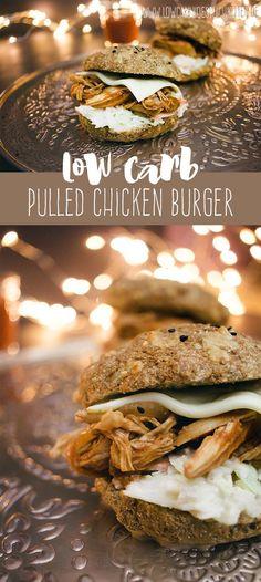 Köstliches pulled Chicken - kein Grill oder SlowCocker nötig, einfach aus dem Backofen #lowcarbköstlichkeiten
