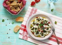 Mozzarella con Gremolata. Receta