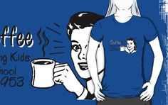 """Coffee - Retro Tee"" T-Shirts & Hoodies by dgoring 