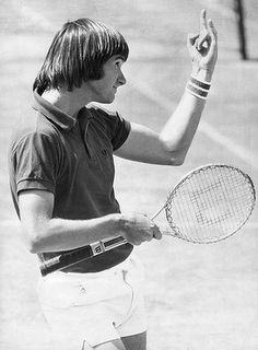 Jimmy Connors wins the Australian Open in 1974. #tennis #ausopen #connors