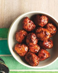 Honey-Chipotle Turkey Meatballs - Martha Stewart Recipes