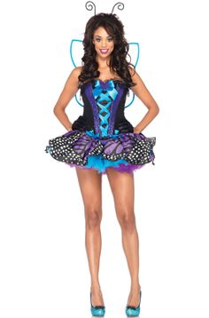 Emperor Butterfly Adult Costume #Halloween #costumes #butterflies