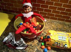Funny & Creative Elf on the Shelf Ideas |