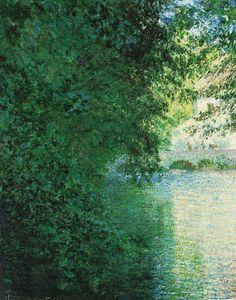 Le Moulin de Limetz (C Monet),1888.