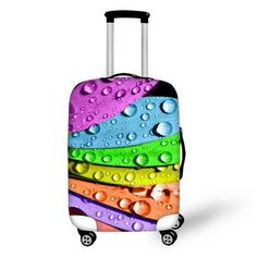 Elastic Protective Cover for 18-30 Inch Luggage - Waterproof, Dust Proof, 29 Designs