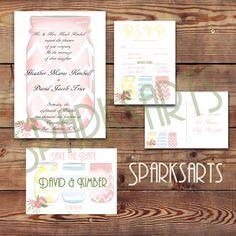 Hey, I found this really awesome Etsy listing at https://www.etsy.com/listing/205220043/boho-mason-jar-diy-wedding-invitation