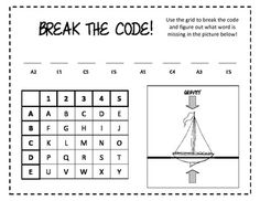 """Break The Code: Buoyancy - free download on TPT - the creator says """"The students then created tin foil boats to try and hold the greatest number of marbles."""" Great idea!"""