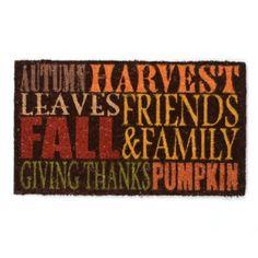 Harvest Door mat #kirklands #pinitpretty