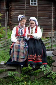 Hej Tjorven: Scandinavian Folklore I en II Laila Duran Folklore Mode, Frozen Costume, Travel Clothes Women, Bridal Crown, Video Games For Kids, Folk Costume, Textiles, Traditional Outfits, Halloween