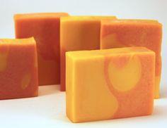 My veggie soap: carrot juice and tomato juice