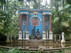 Jardim Botânico Bosque Rodrigues Alves em Belém, PA, Brasil. Foto por Alessandra Rosa.    Bosque Rodrigues Alves Botanical Garden in Belem, PA, Brazil. Photo by Alessandra Rosa.