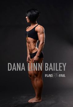 One of the reasons I like Dana Linn Bailey is because she's one of the only competitors that doesn't have fake watermelon boobs. #respect #flagnorfail