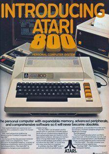 "Retronaut - 1980: Atari 800 ad ""It will never become obsolete"""