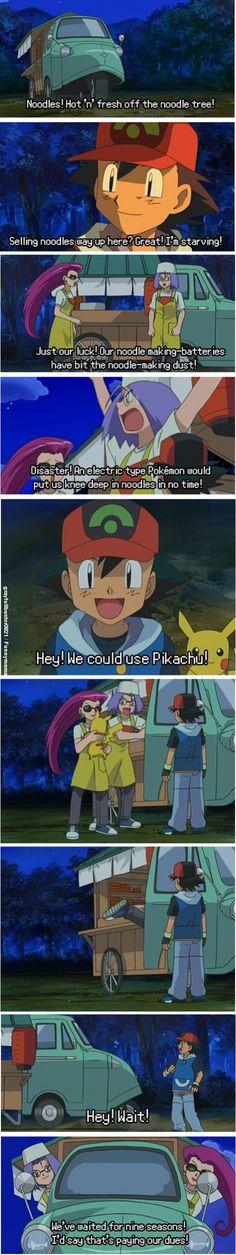 Here a team rocket fan! Caught that fucking pikachu Finaly!!