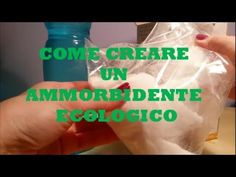 Non comprarlo più! Ecco la ricetta da fare in casa per l'AMMORBIDENTE NATURALE e super efficace | Info Notizie Homemade, Youtube, Home, Green, Home Made, Youtubers, Hand Made, Youtube Movies