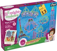 buy K'NEX Mighty Makers® World Travels Building Set  online