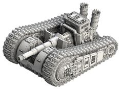 An example of the highly detailed Federated States of America armoured models for Dystopian Legions | Spartan Games