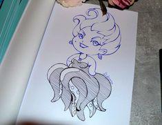 Ursula+By+Lighane.Com+On+ ursula в 2019 г. Cute Disney Drawings, Cartoon Drawings, Cartoon Art, Drawing Sketches, Drawing Disney, Disney Drawings Sketches, Realistic Pencil Drawings, Easy Drawings, Disney Doodles