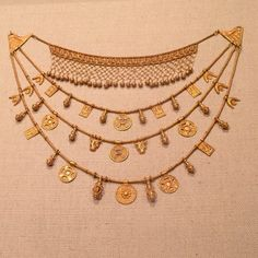 Phoenician Iberian 5th-4th century B.C. #ancientgold #handmade #lovegold