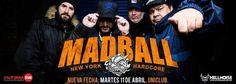 Mañana Madball se presenta en Argentina luego de 4 años