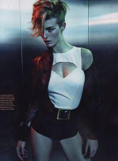 "Elle Brasil Setembro 2013   Flavia Lucini em ""Super Forma"" por Fabio Bartelt [Editorial] Blog de Moda"