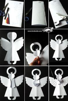 Paper angels: