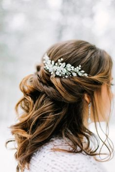 wedding hairstyle прическа невесты