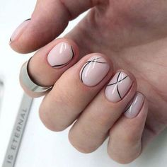 Rock The Round Nails: Comfortable Shape & Coolest Designs - Nail Shapes Ideas - Round Nail Designs, Maroon Nail Designs, Maroon Nails, Blue Nails, Nail Polish, Gel Nails, Nail Nail, Minimalistic Design, Round Nails