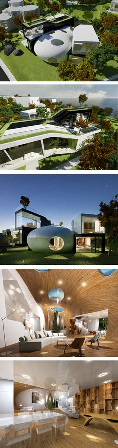 Planning Korea-Cocoon House