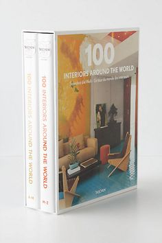 100 Interiors Around The World #anthropologie  $59.99