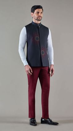 Nehru Jacket For Men, Waistcoat Men, Nehru Jackets, Mens Indian Wear, Mens Ethnic Wear, Indian Men Fashion, Wedding Dresses Men Indian, Wedding Dress Men, Stylish Men