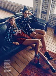 "Duchess Dior: ""The New Posh"" by Beau Grealy for Marie Claire Spain January 2016"