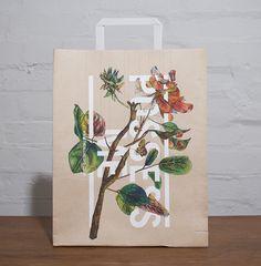 Love Me, Possess Me paper bags - Design by Sidney Lim YX