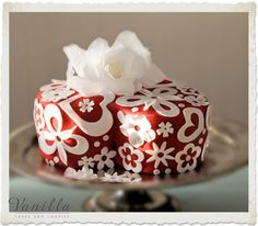 Valentine's Day Cake by Vanilla... Sevgililer Günü Pastası, Vanilla'dan...