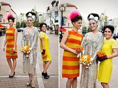 Wedding Inspiration: Свадьба, стилизованная в духе 50-х годов